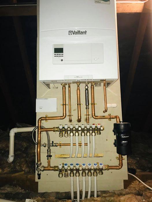 Manifold heating system by Dave Chorley