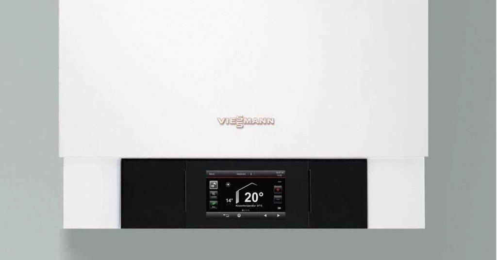 Viessmann control panel